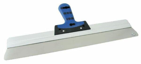Alu-Rakel - BiKo GRIFF blau, rostfrei mit runden Ecken 400 - 600mm